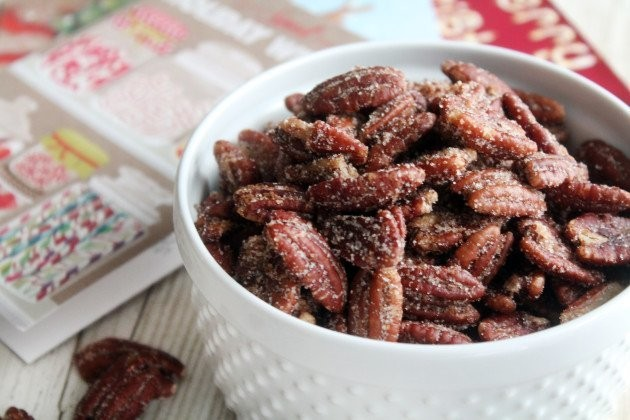 Spicy Sugared Pecans to Make Christmas Tex-ified