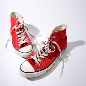 Red Sneakers and Sweatshirts: The Surprising Upside Of Standing Out