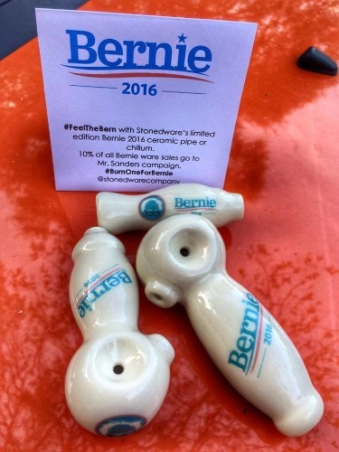 Can You Sell Marijuana Pipes To Help Fund Bernie Sanders?