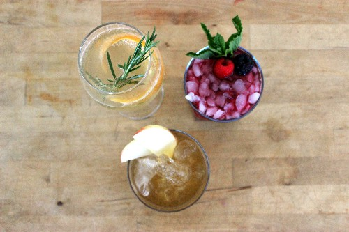 Thanksgiving Cocktails With a Culinary Approach