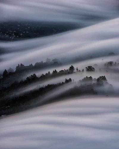 This Fog Blanket Over San Francisco Looks Completely Otherworldly | HuffPost Life