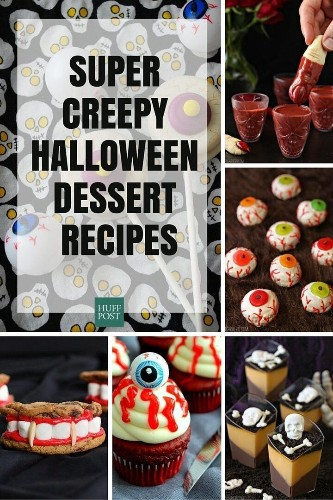 The Creepiest, Scariest Dessert Recipes Your Halloween Needs | HuffPost Life