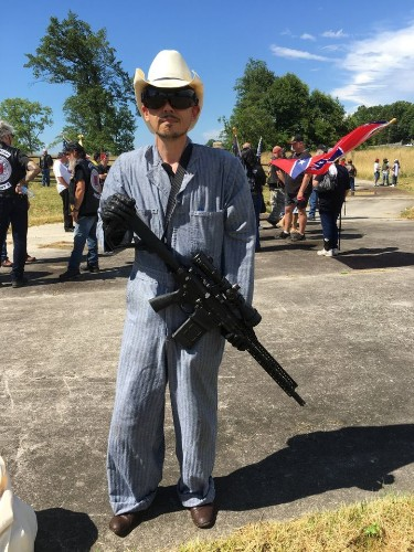Guns And KKK Members At Gettysburg Confederate Rally, But No Foes To Fight