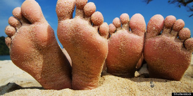 Feet Have More Diverse Fungus Than Elsewhere On Body, Study Finds | HuffPost Life