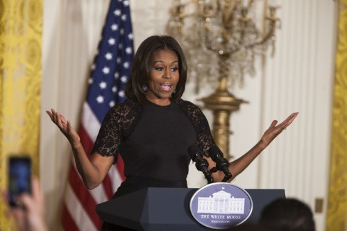 Michelle Obama Urges Landlords To Take In Homeless Veterans