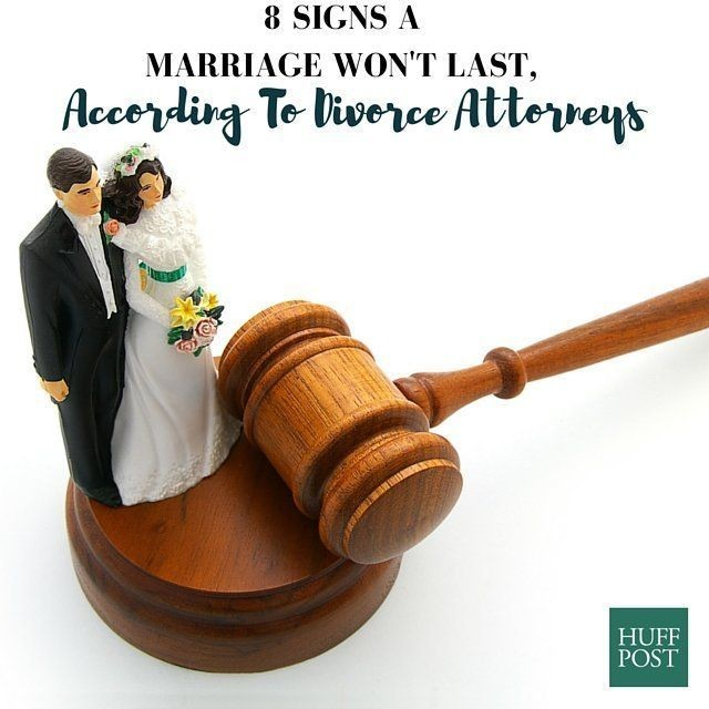8 Signs A Marriage Won't Last, According To Divorce Lawyers | HuffPost Life