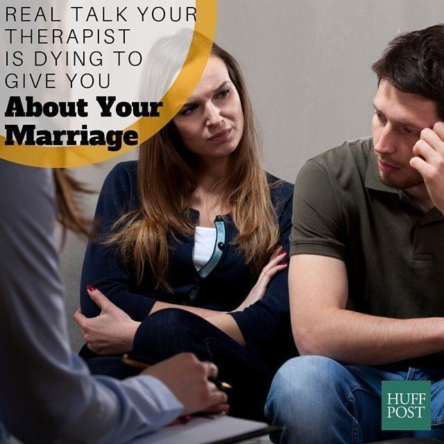 8 Things Your Marriage Counselor Is Thinking But Not Telling You