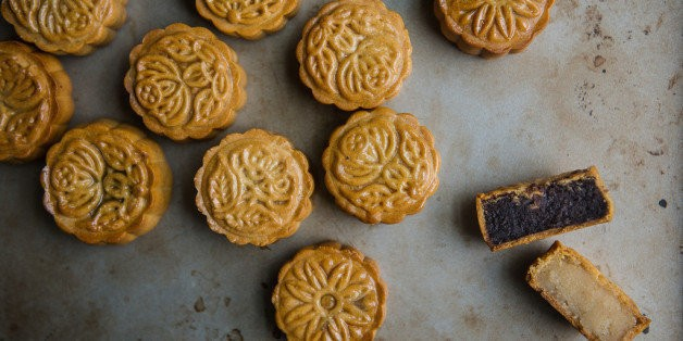 How to Make Traditional Cantonese Mooncakes at Home   HuffPost Life