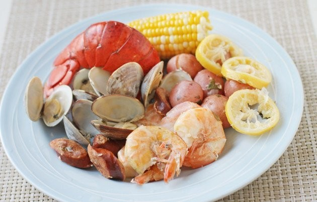The Best Thing About Summer: A Kitchen Clam Bake