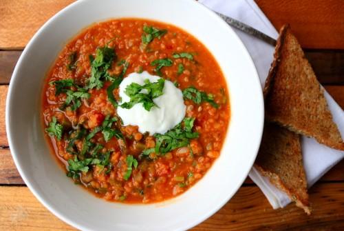 Frozen Fingers, Inspiration and Lentil Soup