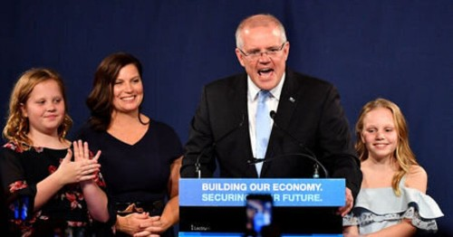 Australian Elections: Scott Morrison Celebrates 'Miracle' Victory