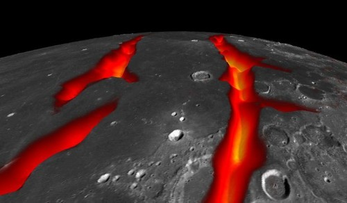 Fountains Of Fire Used To Erupt On The Moon And Now We Know Why