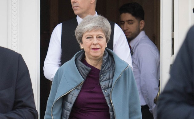 Theresa May Coup Plot Rumours Reach Fever Pitch Amid Damning 'All Over' Tweet
