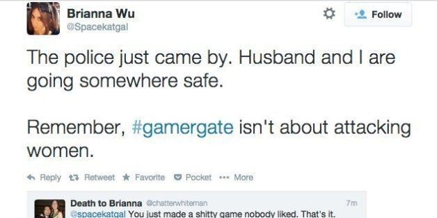 Game Developer Brianna Wu Flees Home After Death Threats