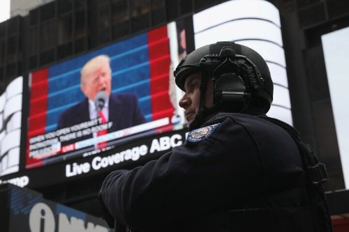 Trump's Inaugural Speech Sounded More Like A Takeover