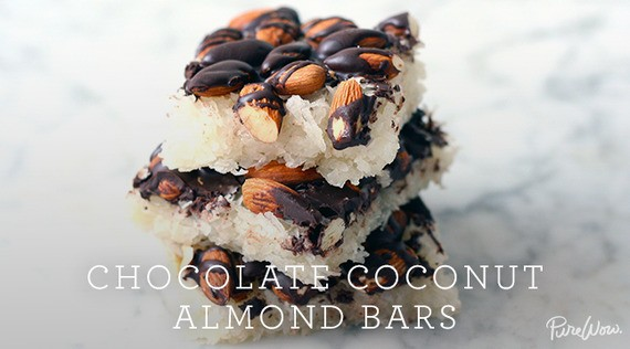 Chocolate Coconut Almond Bars
