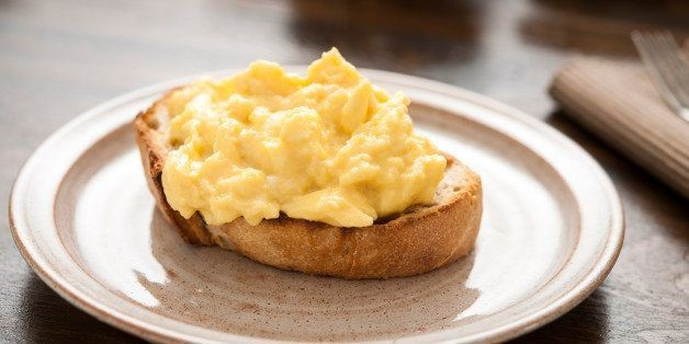 Why Adding Milk To Your Scrambled Eggs Is A Mistake | HuffPost Life