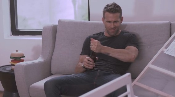 Ryan Reynolds Is All Of Us When Assembling An Ikea Crib | HuffPost Life