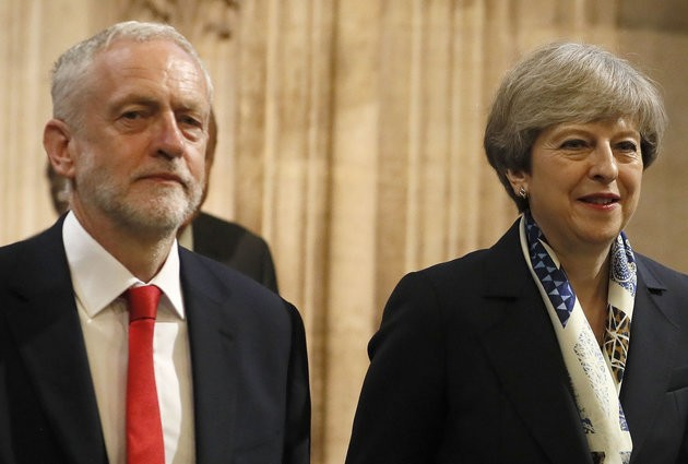 Theresa May Tries To Blame Labour For Brexit Deadlock As Euro Elections Loom