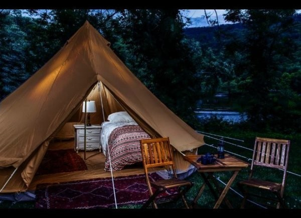 The Most Spectacular Glamping Destinations in the U.S.