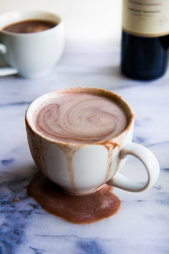 Adding Red Wine To Hot Chocolate Is The Answer For Everything | HuffPost Life