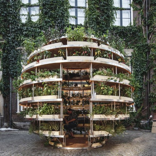 Ikea Lab Releases Free Designs For A Garden Sphere That Feeds A Neighborhood | HuffPost Life
