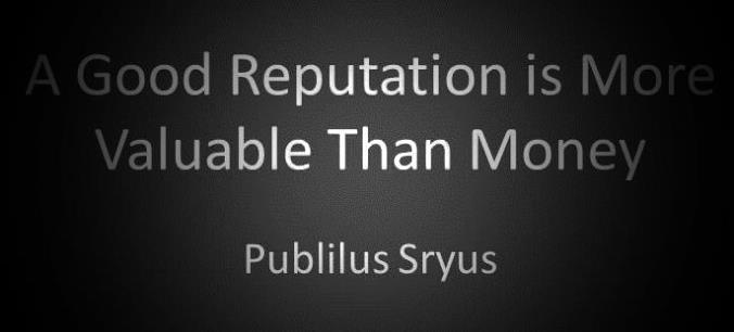 Reputation Management + Wealth Management Correlate in Digital