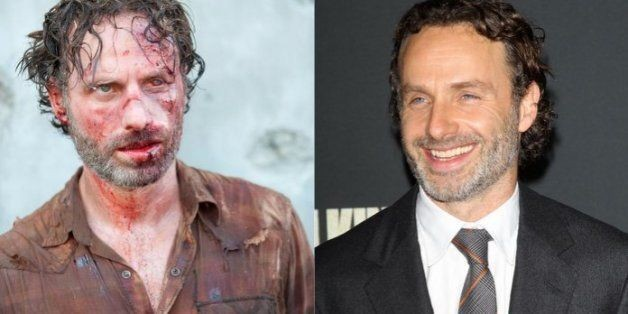 No Zombies! See 'The Walking Dead' Actors Without Blood Before The Season Four Premiere