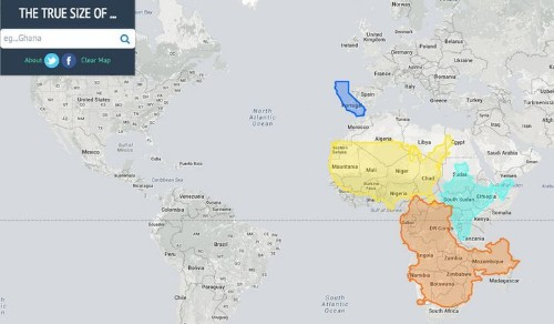 'True Size Map' Proves You've Been Picturing The Planet All Wrong | HuffPost Life