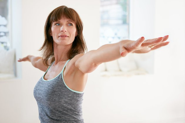 10 Minutes Of Yoga Each Day Could Ease Menopause Symptoms, Study Suggests