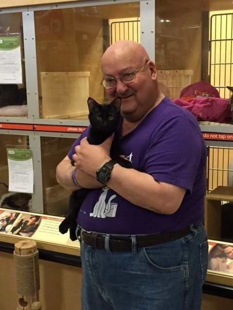 Man Says Kitten Saved His Life Days After Adoption From Shelter