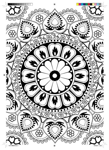 Print This Coloring Book Page To De-Stress Instantly | HuffPost Life