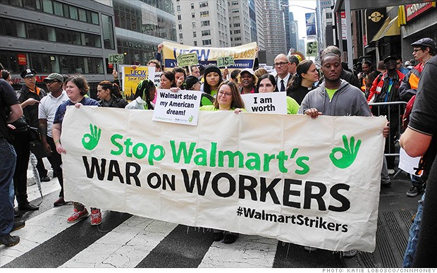 On Black Friday, Americans Confront the Walmart 1 Percent: Pay Employees a Living Wage