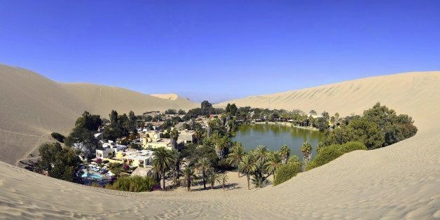 It's Not A Mirage: Tiny Oasis Town Of Huacachina Thrives In Middle Of Dry Desert