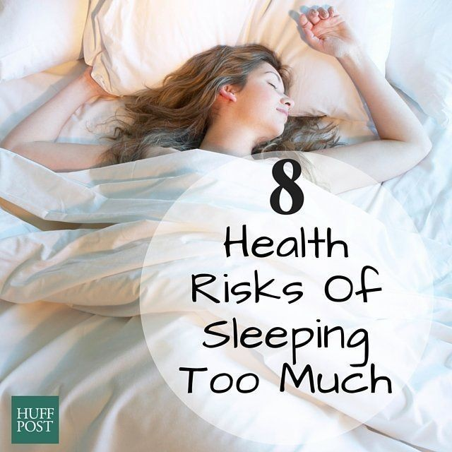 8 Surprising Ways Too Much Sleep Is Hurting Your Health