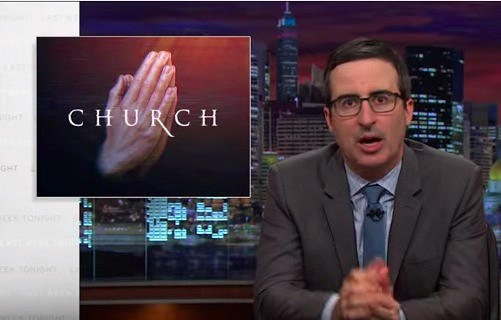 'War on Faith?' John Oliver and the Televangelists