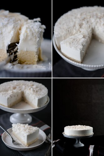 Sense of Taste: Coconut Mousse Cake (Recipe)