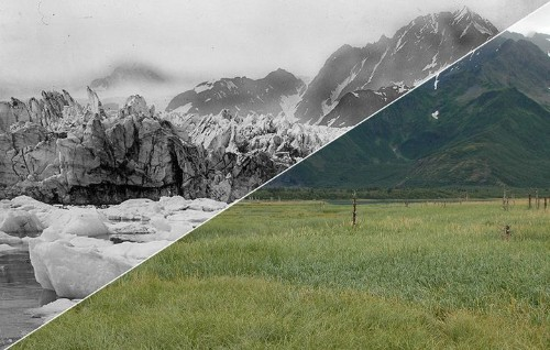 These Before And After Images Show The Startling Effects Of Climate Change