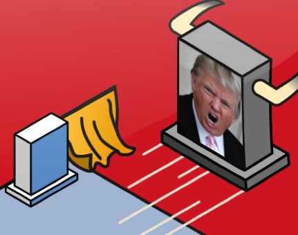 How to Beat The Donald: Encourage Him