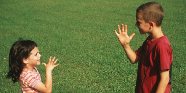 Building Communication With a Deaf Child