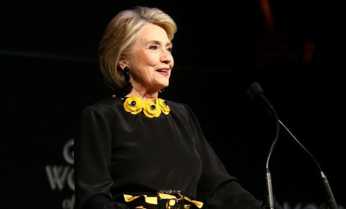 Hillary Clinton Applauds Women Who 'Went All In' For Midterms