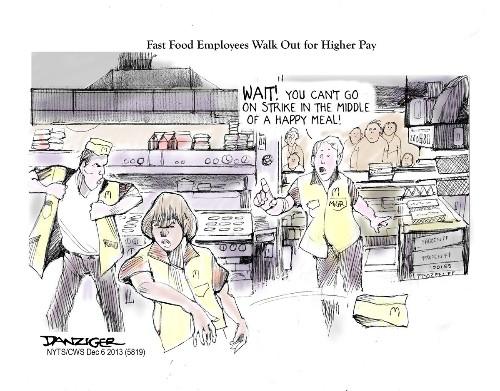 Fast Food Walkout