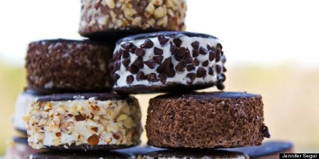 Happiness Is Homemade Ice Cream Sandwiches | HuffPost Life