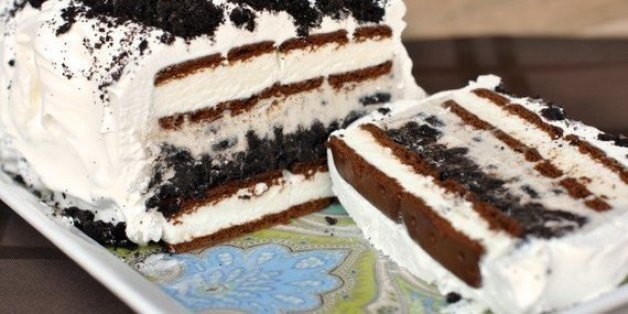 Easy Peasy Oreo Ice Cream Cake | HuffPost Life