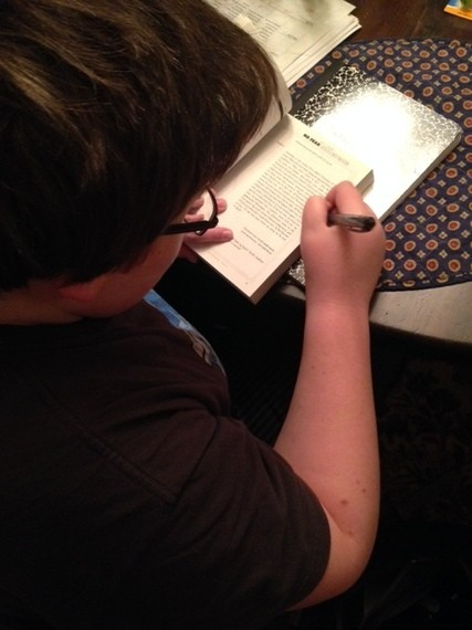 Kids and Homework: Backing Off Is Best