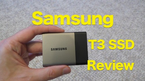 Samsung Portable SSD T3 Review- Small, Fast and Secure Storage