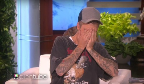 Justin Bieber Tells Ellen What He Really Thought About That Penis Photo