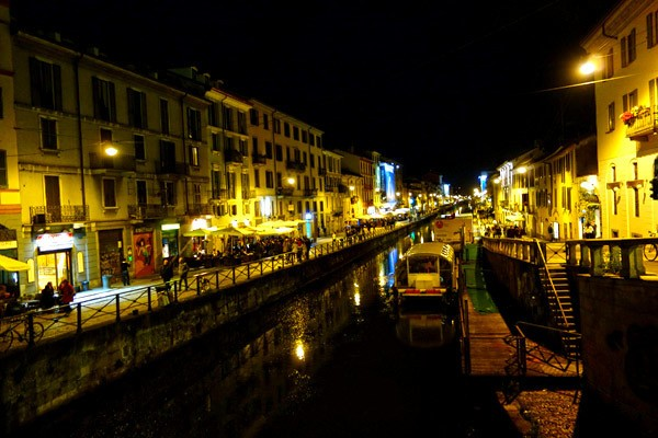 Nuovo in Milano: A Thriving Eating and Drinking Scene at the Old Canal