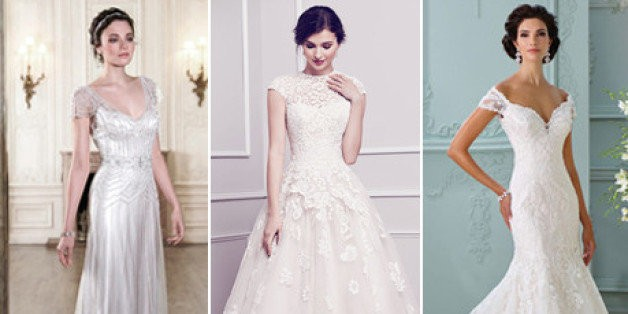 The 25 Most-Pinned Wedding Dresses Of 2015 | HuffPost Life