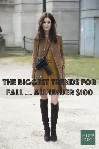 How You Can Score The 5 Biggest Fall Trends For Under $100 | HuffPost Life